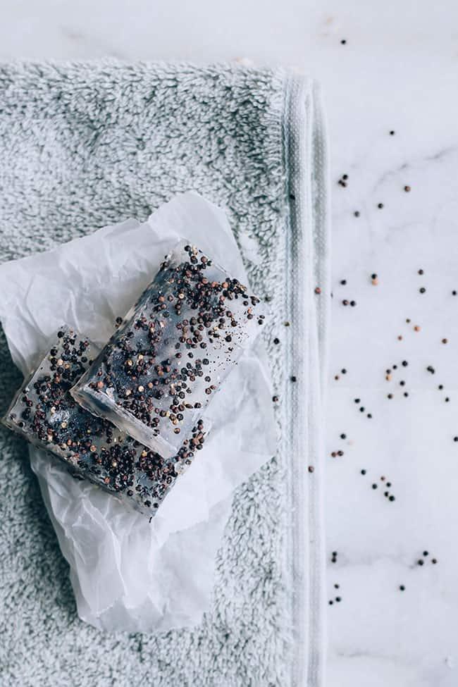 DIY Exfoliating Homemade Soap - 4 Ways