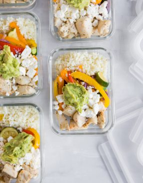 Chicken and Veggie Meal Prep Bowls