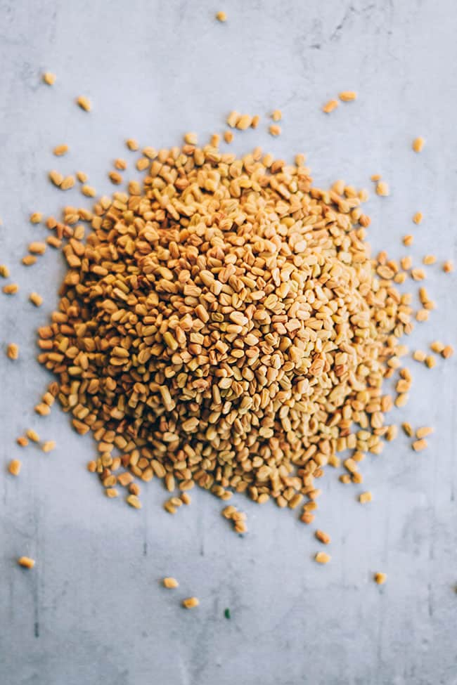 Anti-Inflammatory Fenugreek Seed Face Mask for Radiant Skin