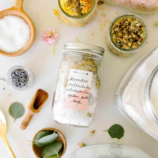 Make-Your-Own Bath Salt Bar