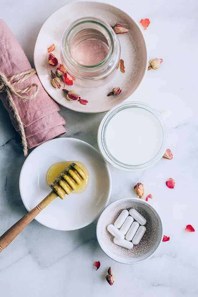 Skin Balancing Probiotic Rose Milk Cleanser