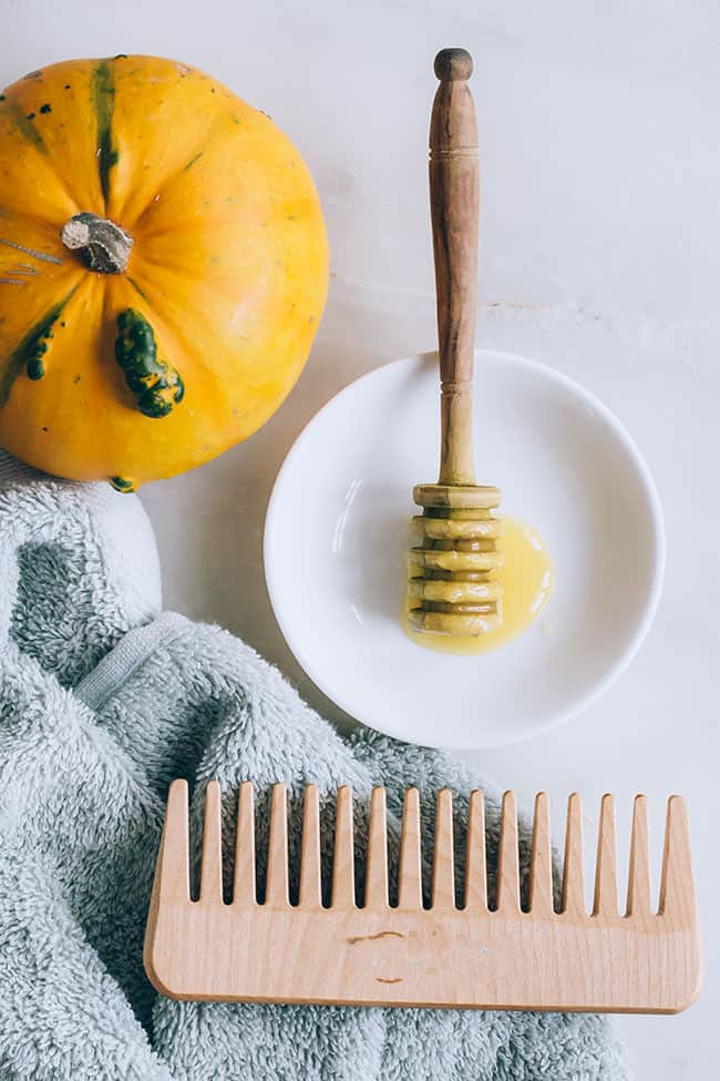 Pumpkin and Honey At Home Hair Treatment