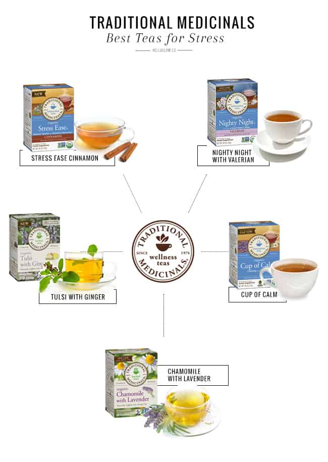 The Best Teas to Help You Cope With Stress