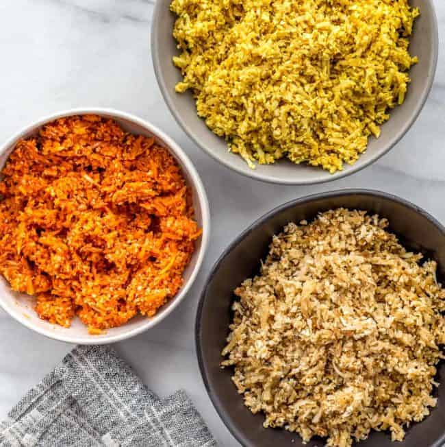 3 Simple Ideas to Upgrade Your Next Batch of Cauliflower Rice