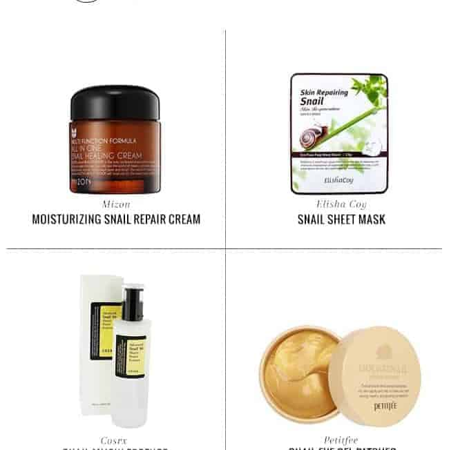 What's the Deal with Snail Slime Skincare Products?