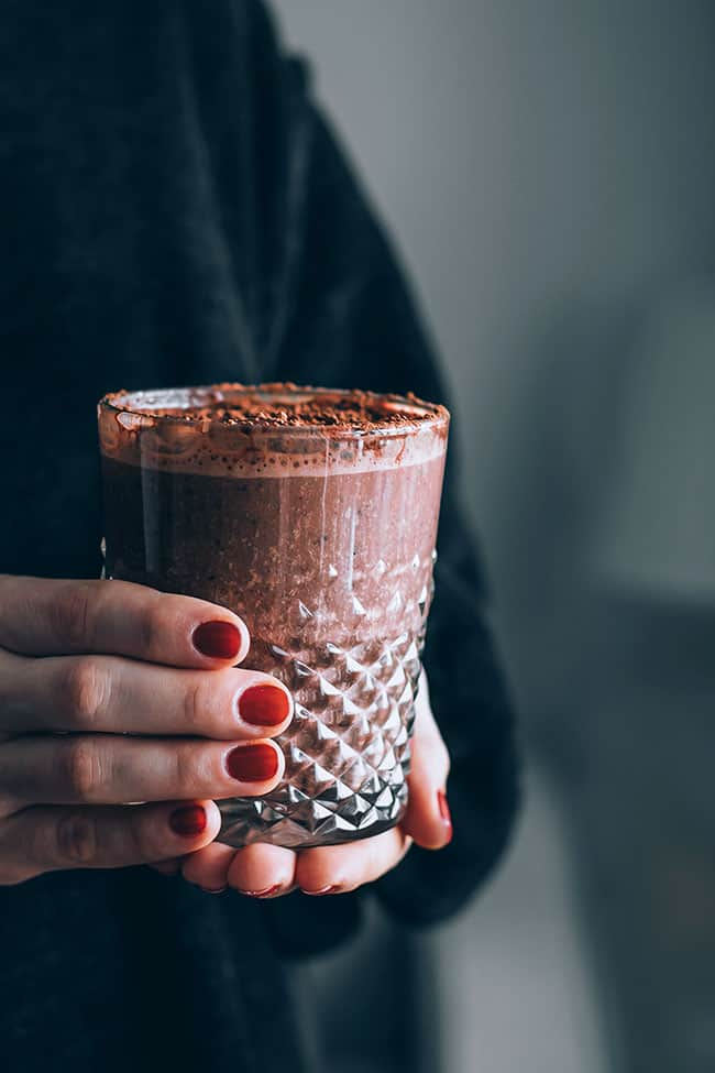 Headache-Soothing Adaptogenic Hot Chocolate from Hello Glow