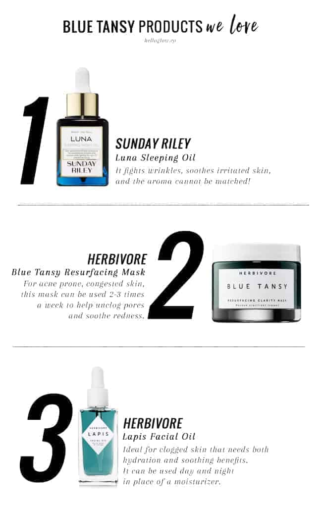 3 Blue Tansy Products We Love