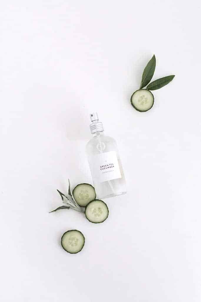 Green Tea Cucumber Room Spray from Homey Oh My