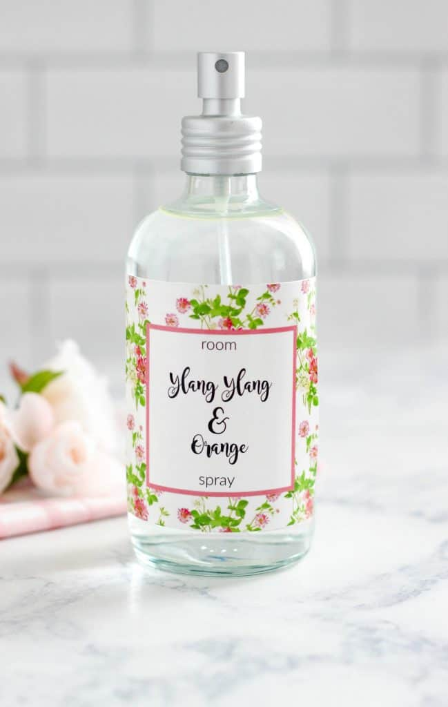 Ylang Ylang and Orange Room Spray from Purely Katie