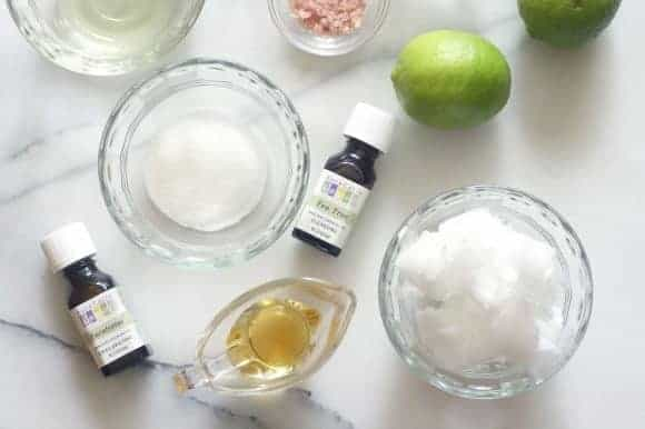 Copycat Lush Margarita Face Scrub from The Sweeter Side of Motherhood