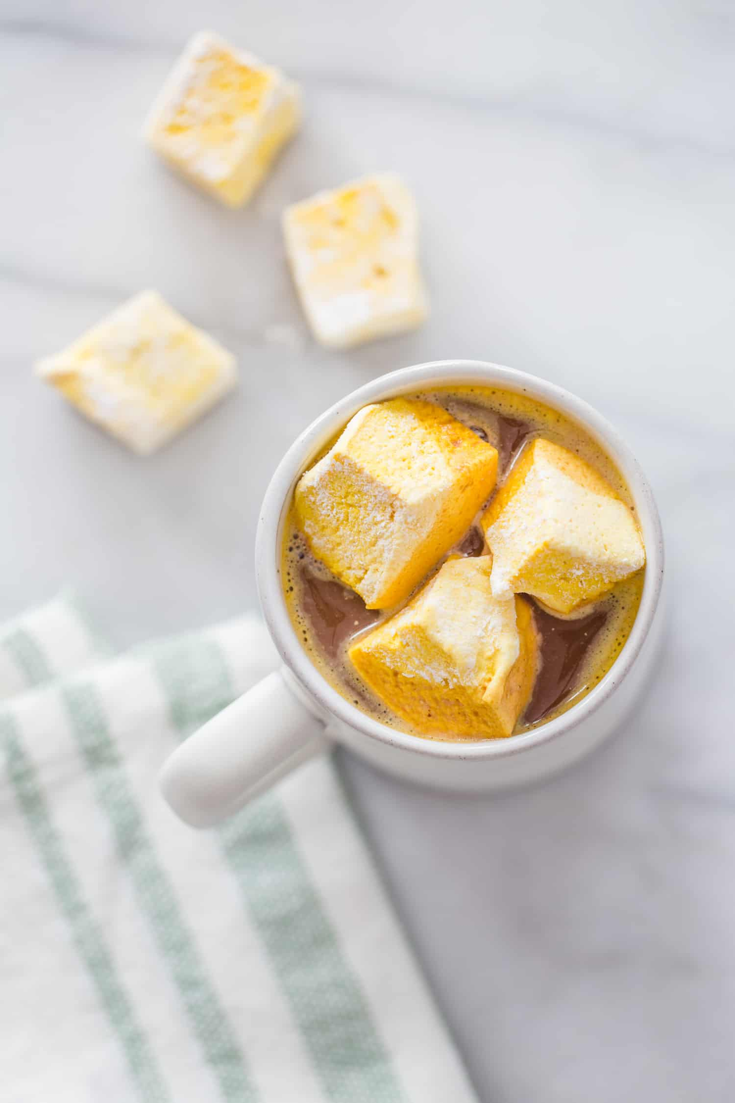 Gut-Healing Turmeric Honey Marshmallows