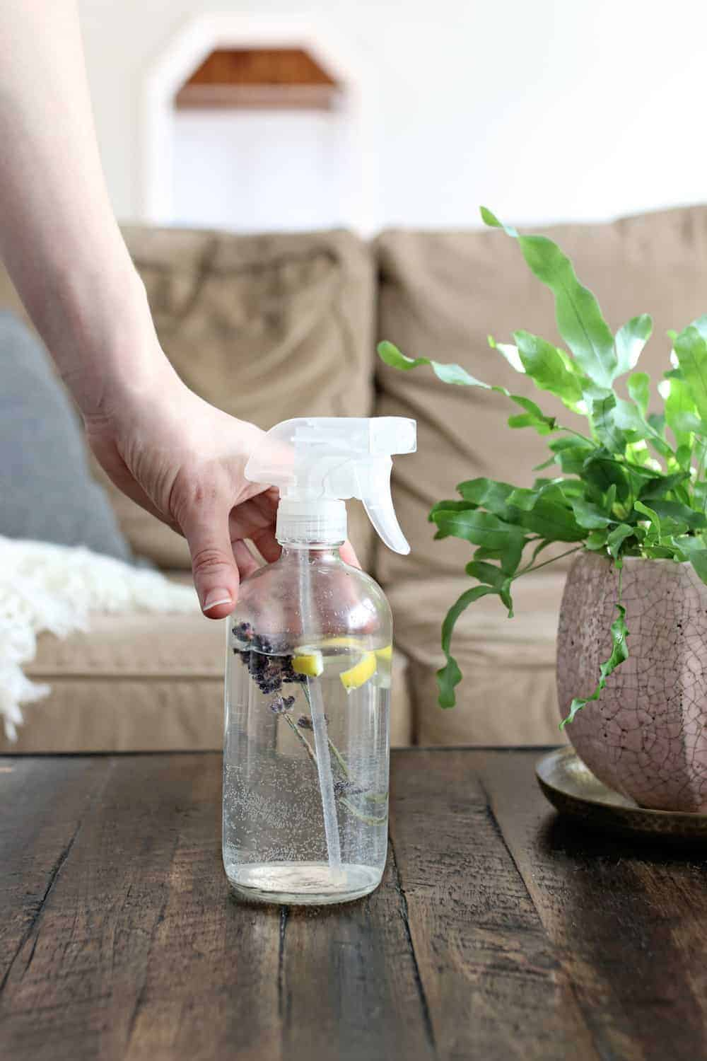 Freshen Up Your Furniture With This DIY Upholstery Spray