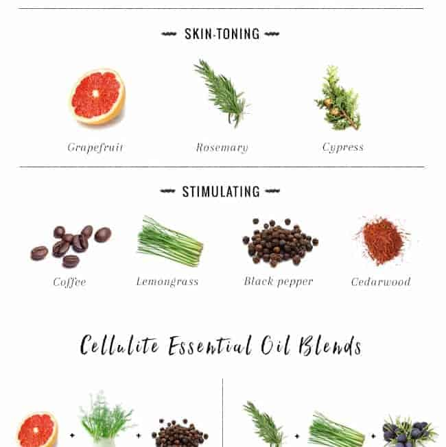 The Best Essential Oils for Dry Brushing + Cellulite