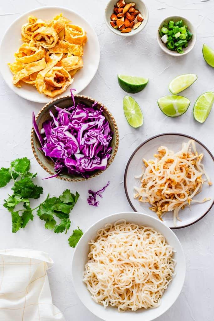 Keto Pad Thai + The Trick to Making Shirataki Noodles Appetizing