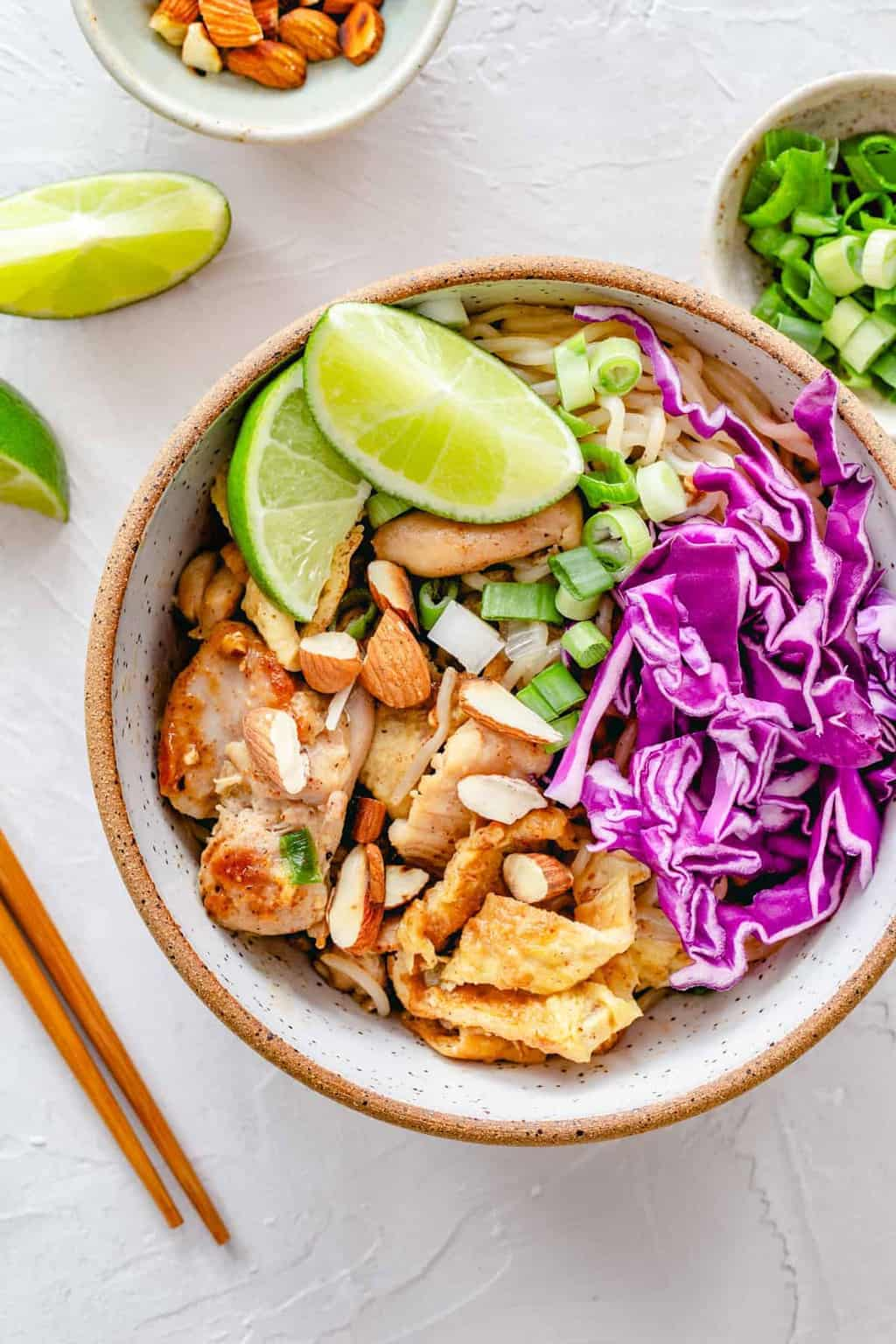 Keto Pad Thai + The Trick to Making Shirataki Noodles Appetizing