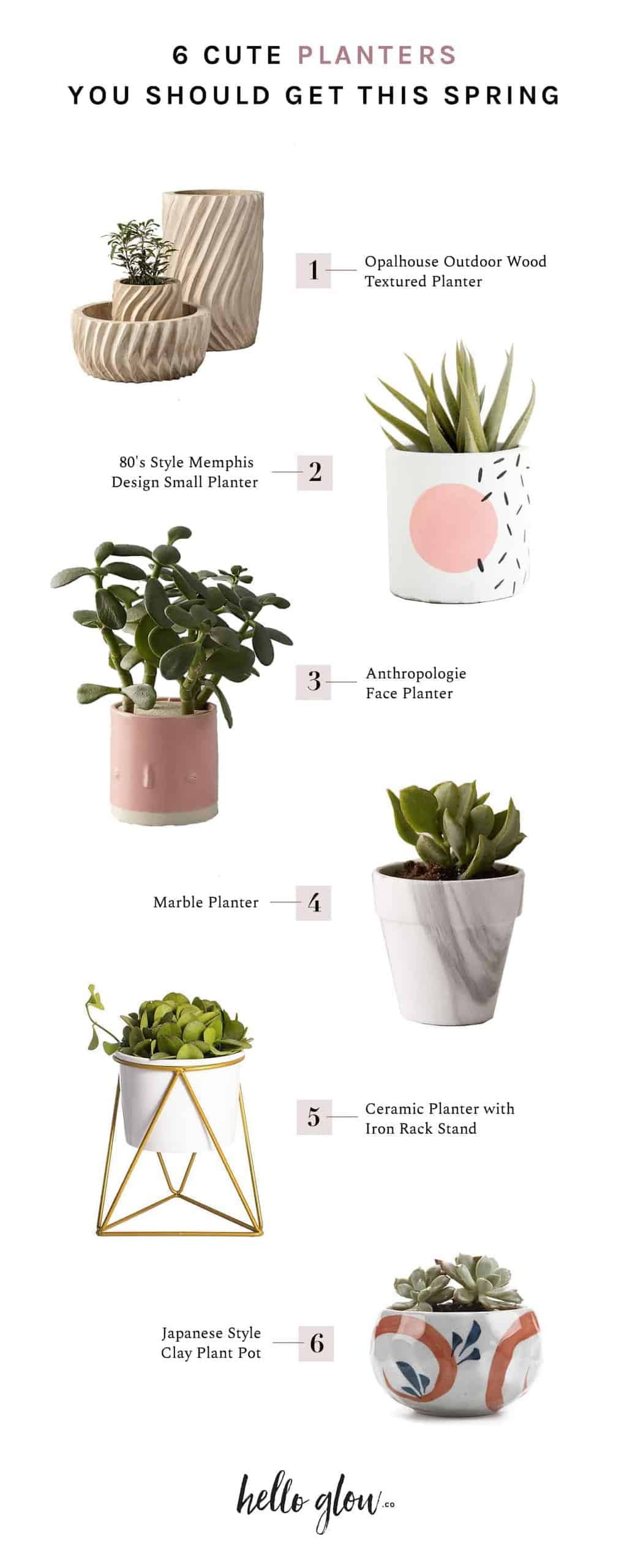 6 Cute Planters You Should Get This Spring