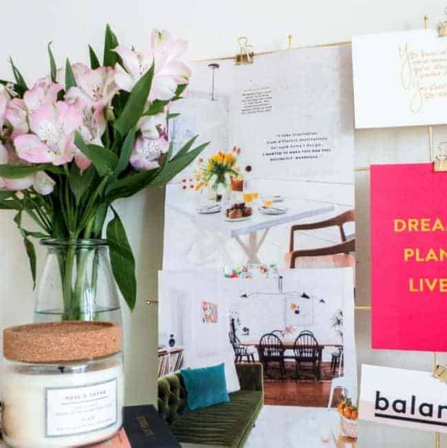 How To Create Your Own Vision Board