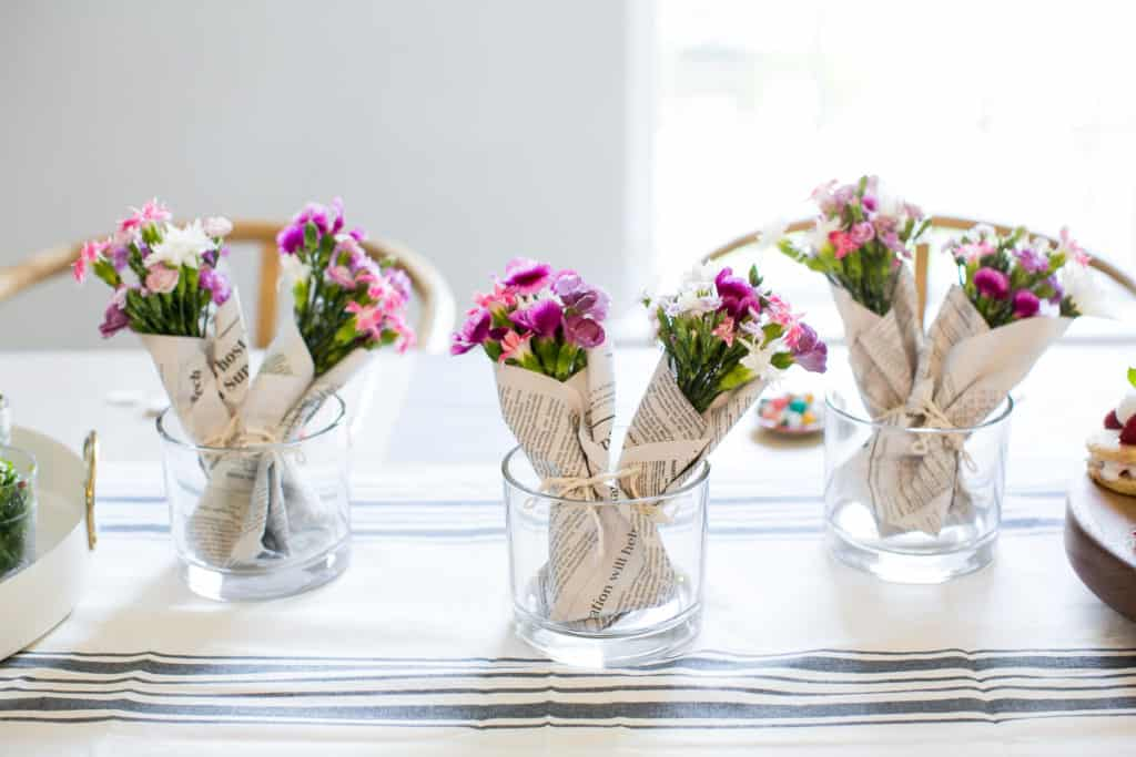 How to Make Mini-Bouquets with Grocery Store Flowers
