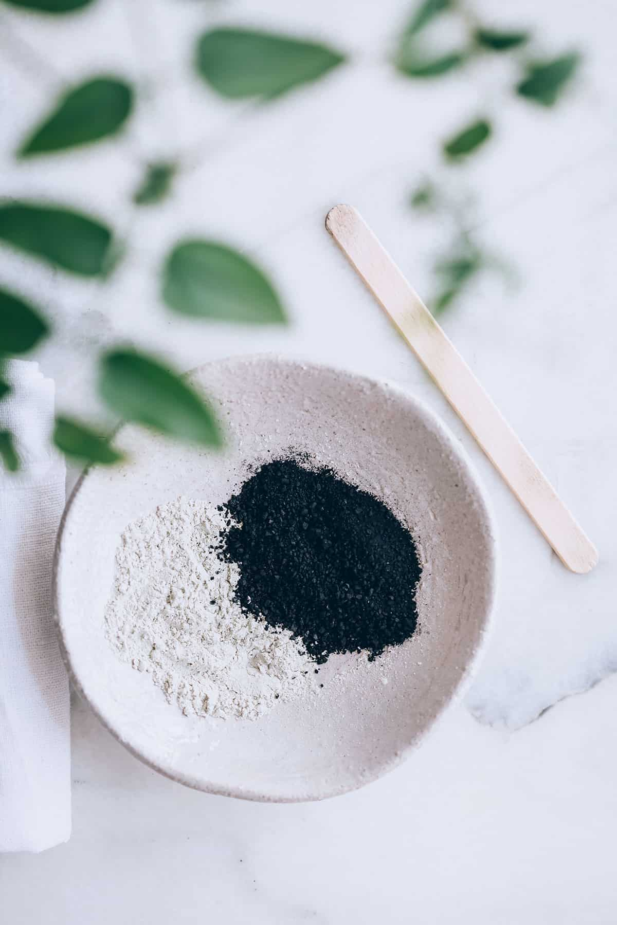 Activated charcoal & Clay Mask | 50 Face Mask Recipes