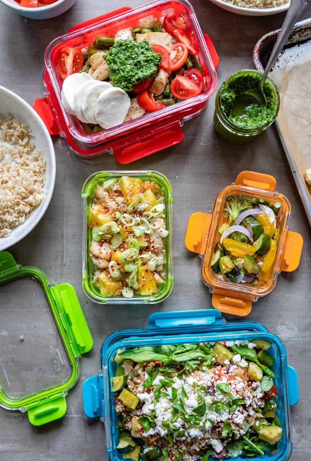 These Marinated Chicken Meal Prep Bowls Are a Weekday Lunch Win