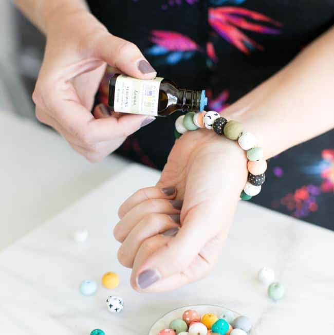 Make Your Own Essential Oil Bug Repelling Bracelet