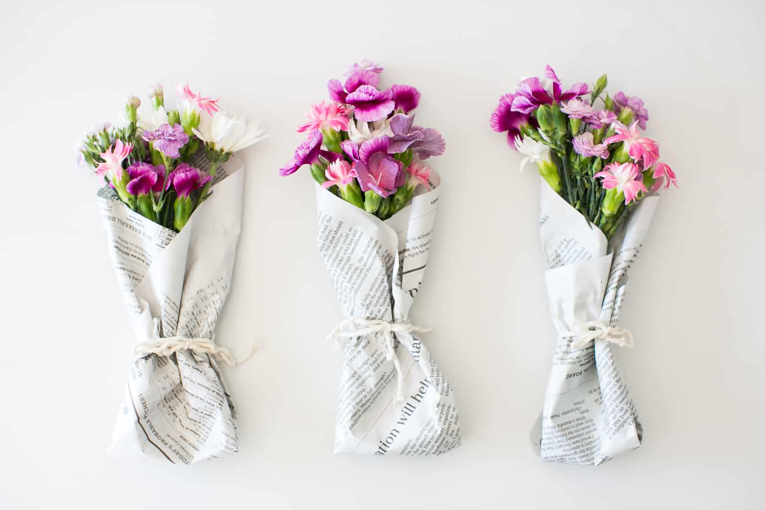 Mini Grocery Store Flower Bouquets