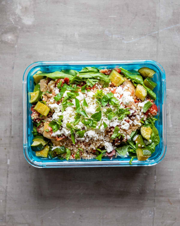 Mediterranean Chicken Quinoa Bowl Recipe: These Marinated Chicken Meal Prep Bowls Are A Weekday