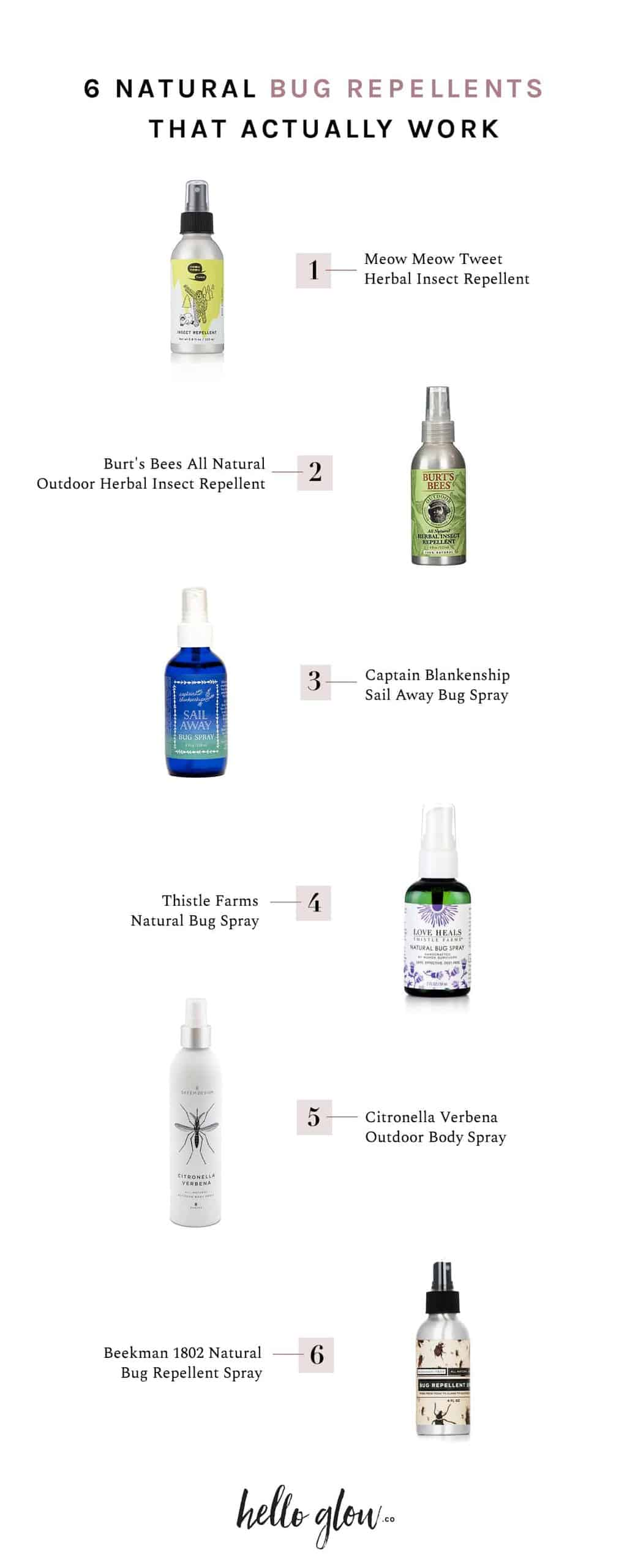 6 Natural Bug Repellents That Actually Work