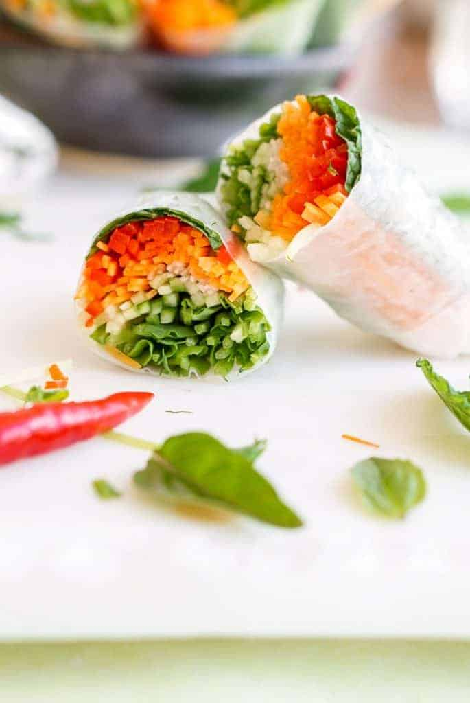Fresh Summer Rolls from Who Needs Salad?