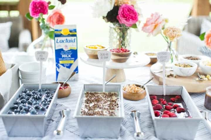 A Homemade Ice Cream Social Party That's Perfect for Summer