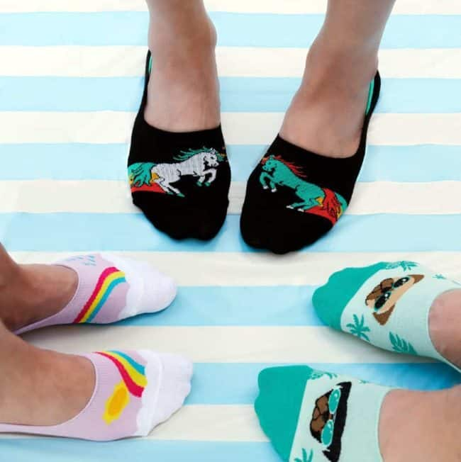 The Perfect Socks for Summer Flats: Sock It to Me No-Show Giveaway
