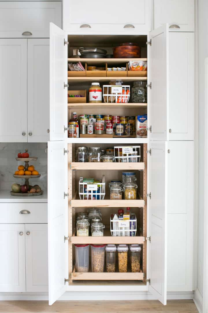 Here S A Look At The Whole Cabinet This May Be One Of Most Satisfying Projects I Ve Ever Done How Do You Organize Your Pantry