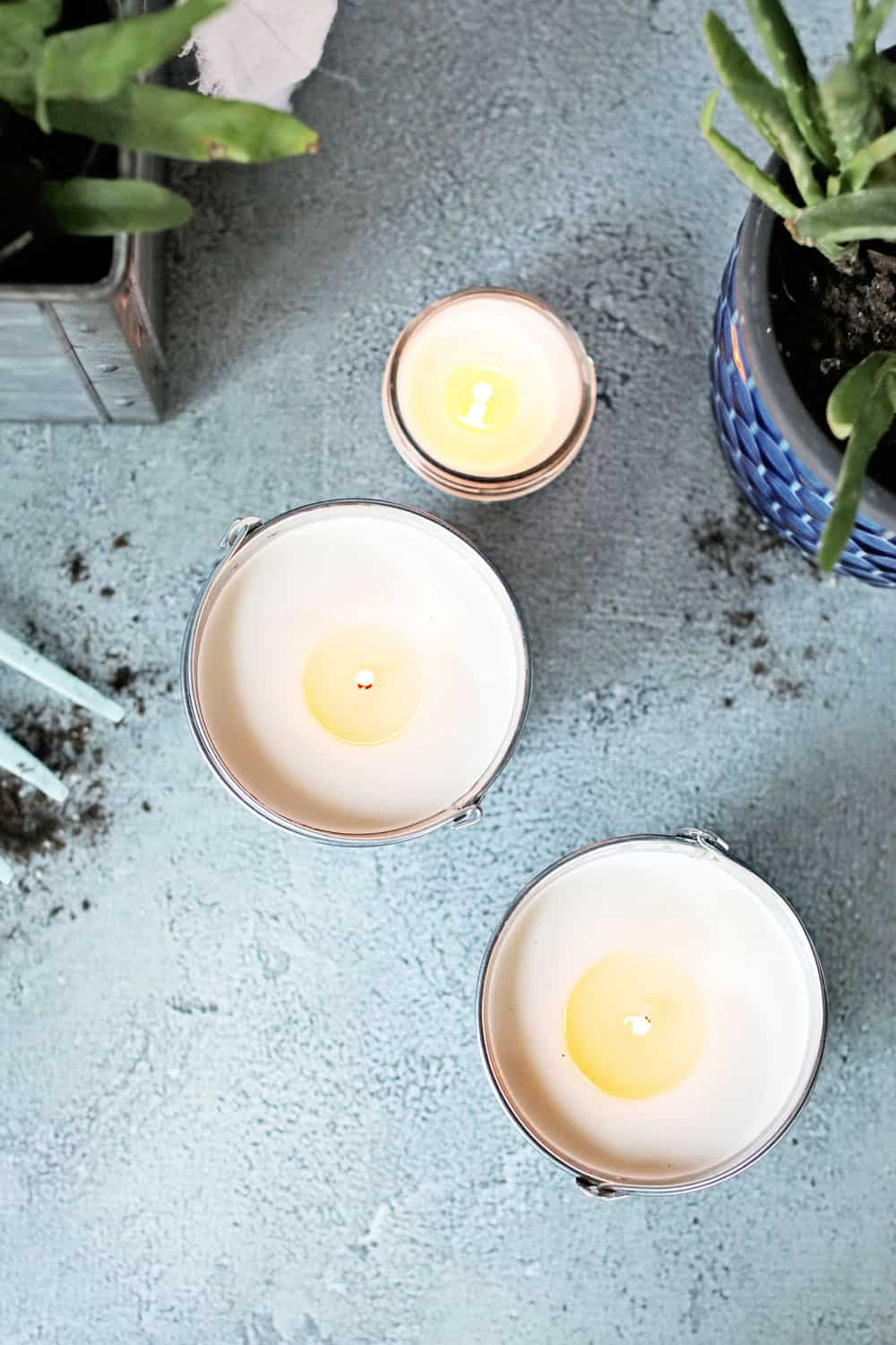 How to Make Patio Candles