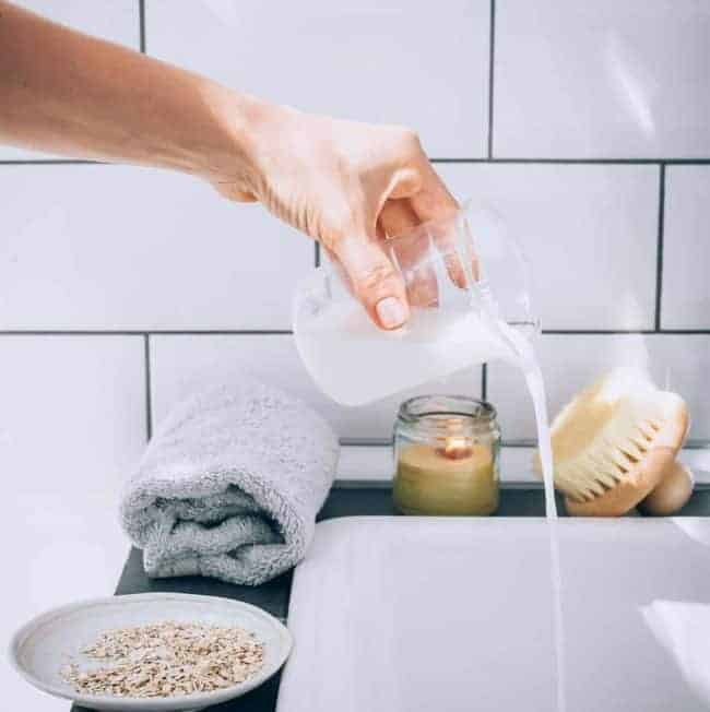 Got a Little Too Much Sun? Try This Sunburn Relief Milk Bath