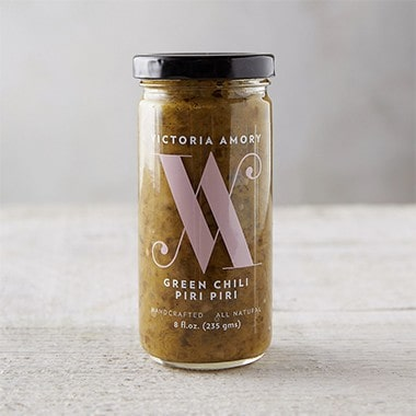 Green Chili Piri Piri Sauce