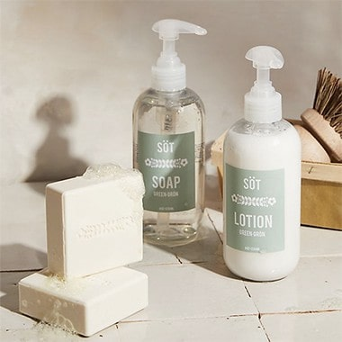 SOT Soap + Lotion Duo Caddy