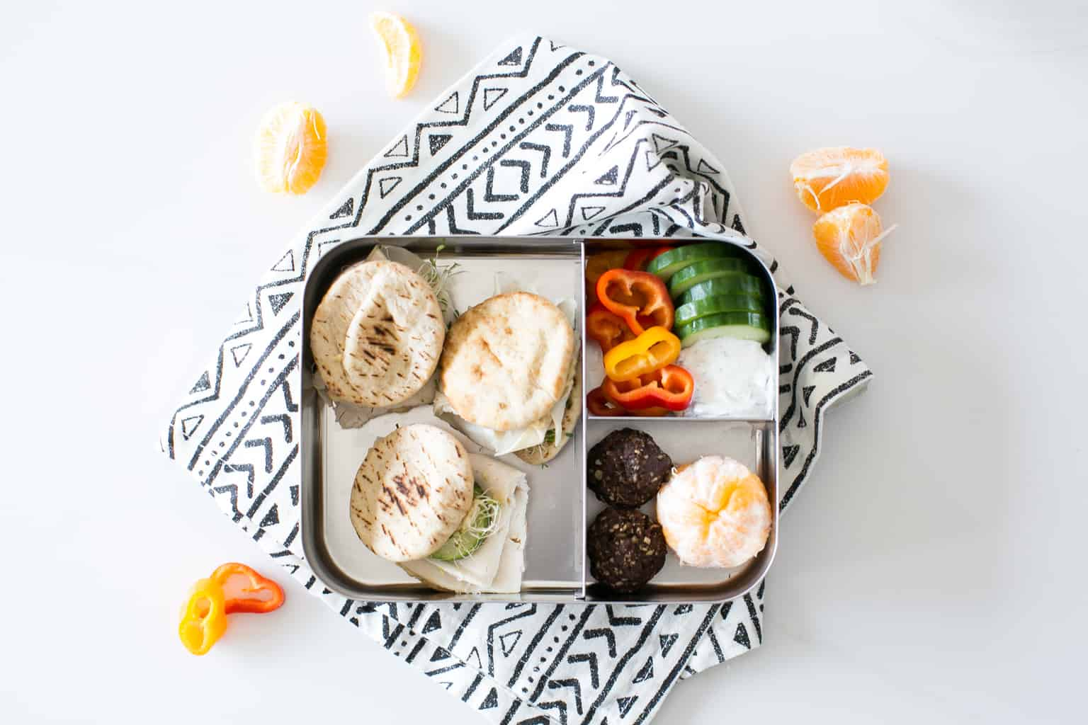 4 Tasty Bento Box Lunch Recipes with Deli Turkey and Cheese