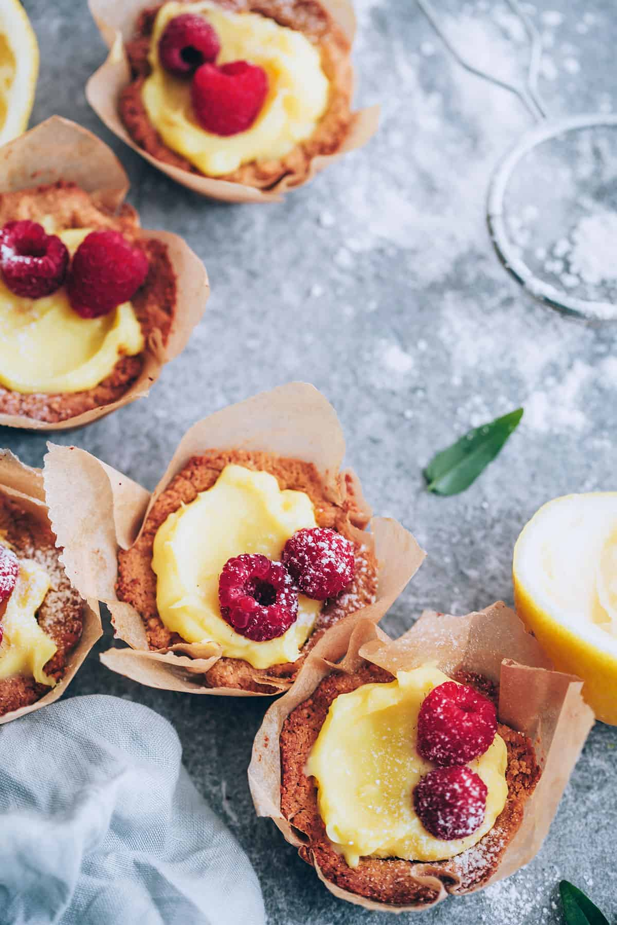 Lemon Curd Tartlets