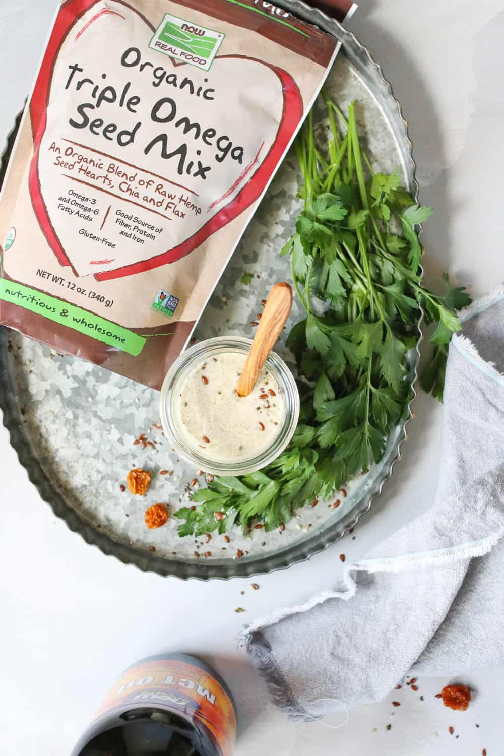 3 Superfood MCT Oil Salad Dressings You Can Whip Up in Minutes