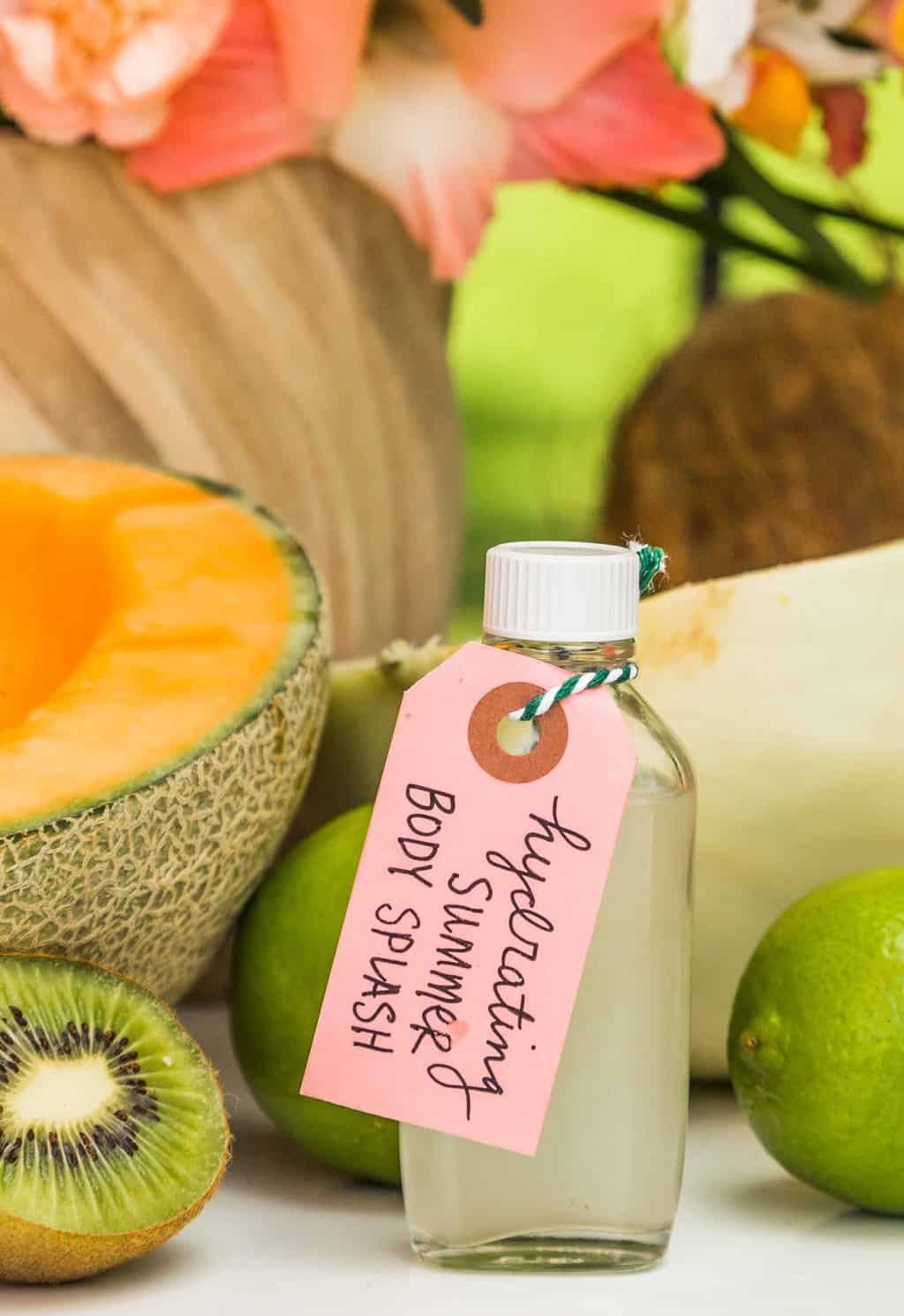 Cool Down with this Hydrating Summer Body Splash