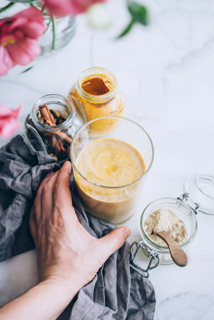 Turmeric Latte from Hello Glow