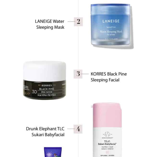 5 Sleeping Masks That Give You an Overnight Facial
