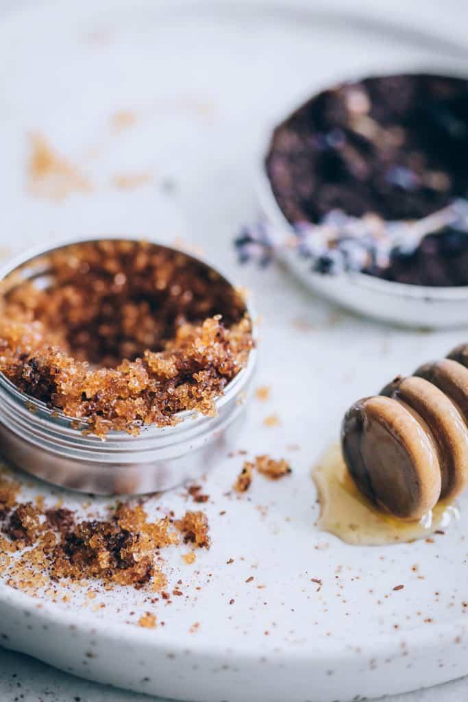 How to make a lip scrub recipe