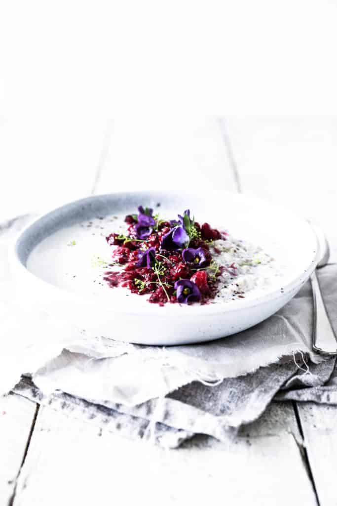 Buckwheat Basil Seed Porridge from Swoon Food