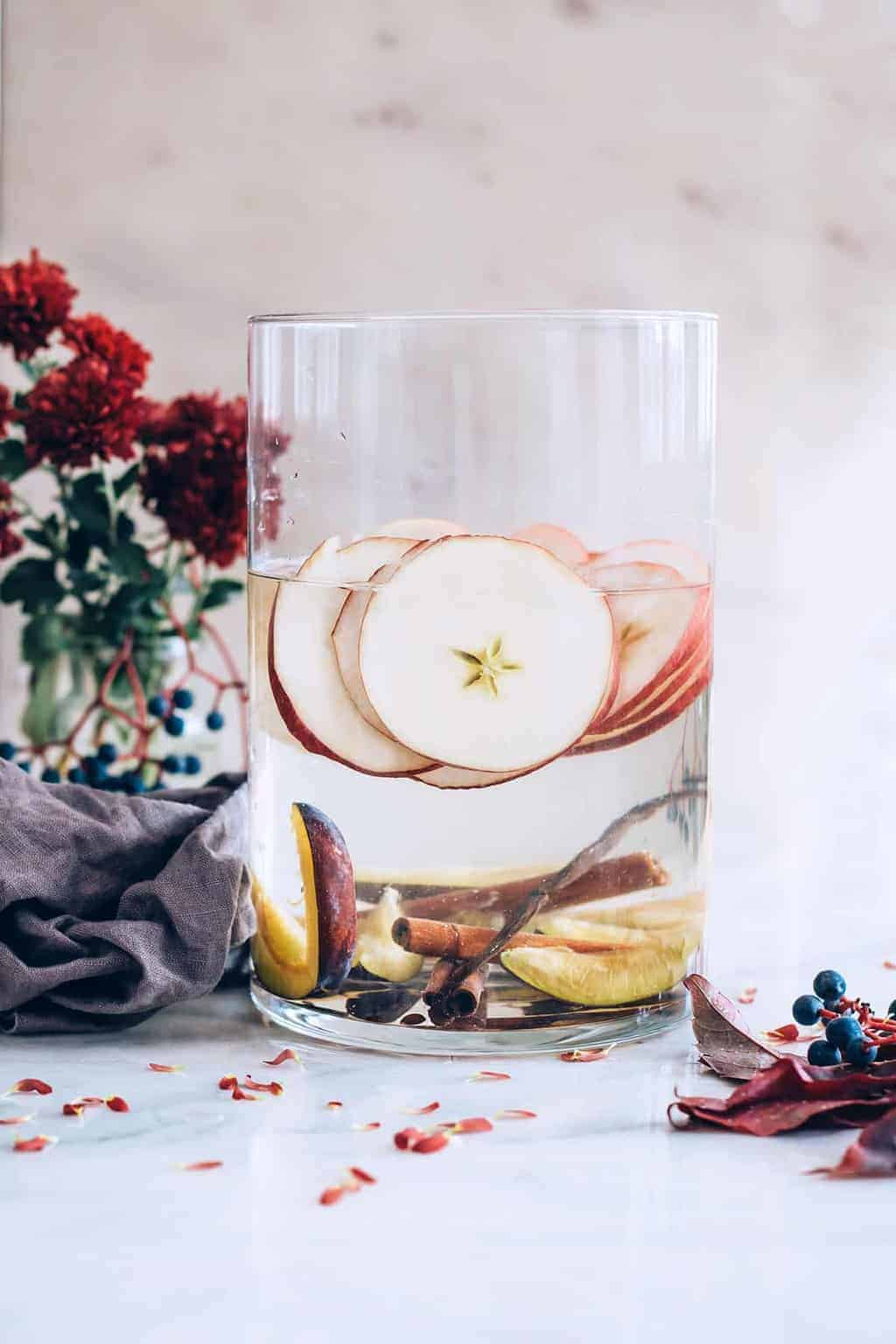 Apple Cinnamon Infused Water
