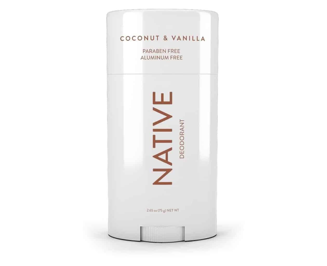 Native Coconut & Vanilla Deodorant – 2.65oz