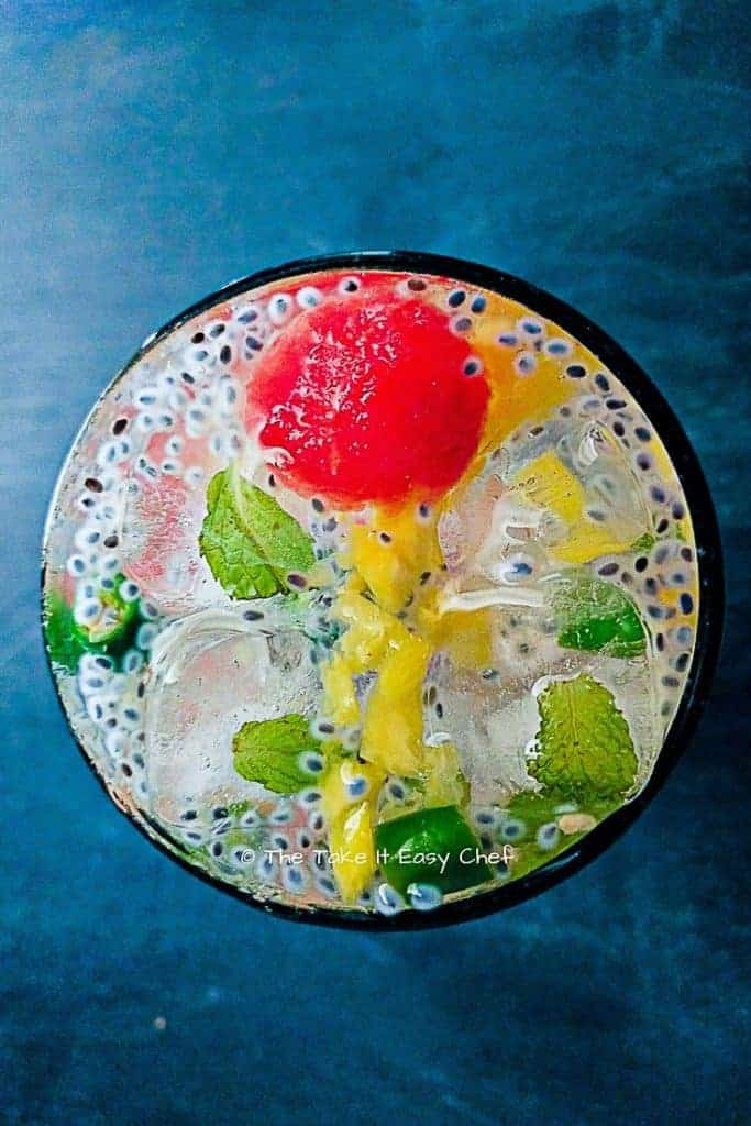 Pineapple Limeade from Take It Easy Chef
