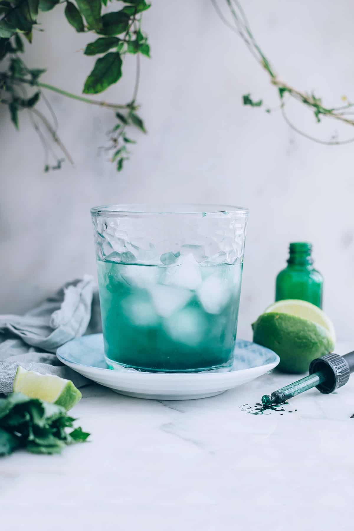Detox Limeade + The Benefits of Adding Chlorophyll to Your Diet