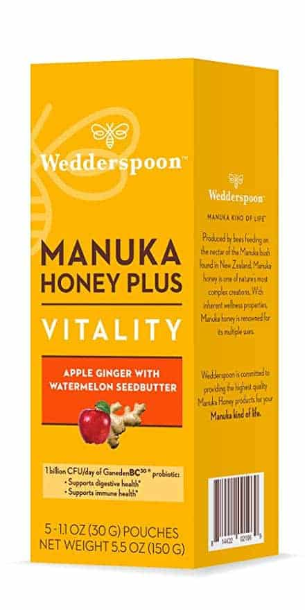 Wedderspoon Manuka Honey Plus Vitality