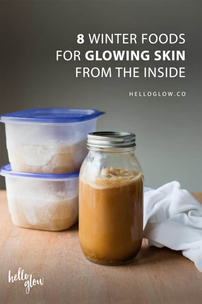 8 Winter Foods for Glowing Skin from the Inside